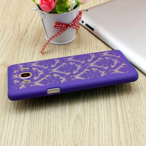 purple vintage samsung galaxy s8 plus case