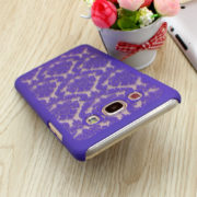 vintage style samsung galaxy s8 plus case in purple
