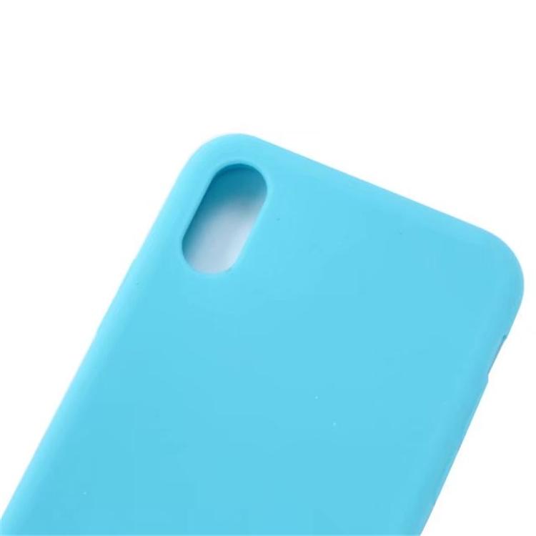 Light Blue Iphone X Soft Case Retailite