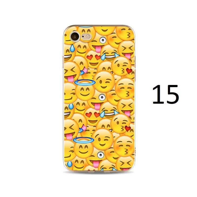 emoji collage happy love iphone x 8 7 plus case