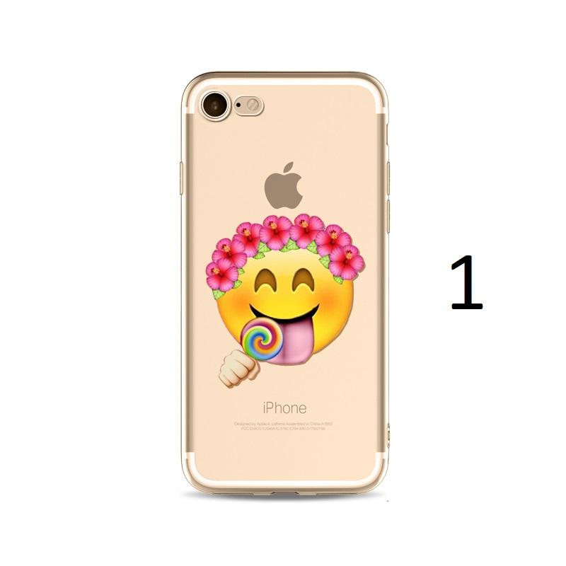 flower hat lollipop emoji iphone x 8 7 plus case