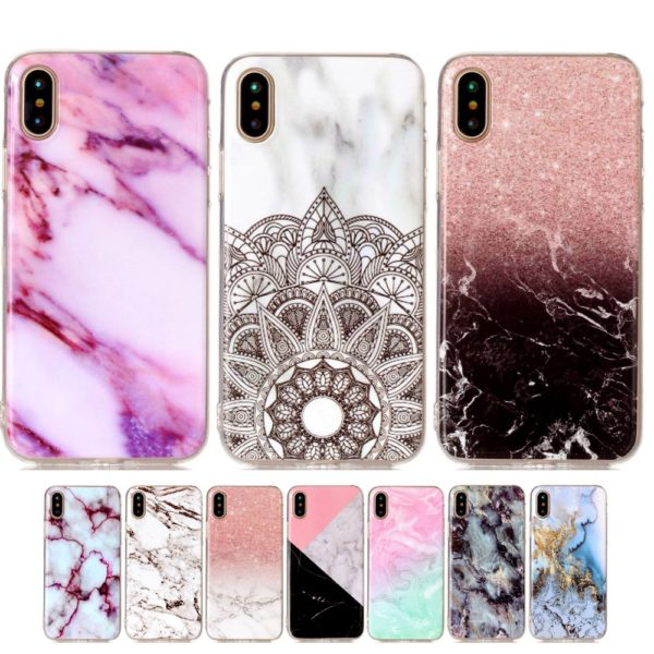 marble iphone 7 8 plus X Cases