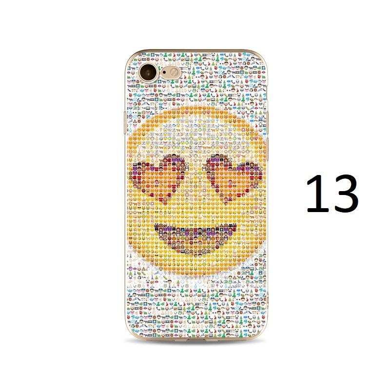 mosaic heart eyes emoji iphone x 8 7 plus case