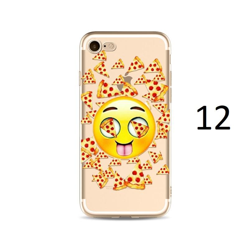 pizza eyes emoji iphone x 8 7 plus case