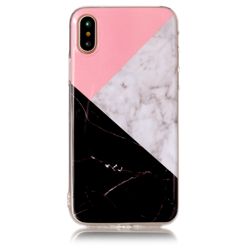 Colorful Marble Iphone 7 8 7 Plus 8 Plus X Soft