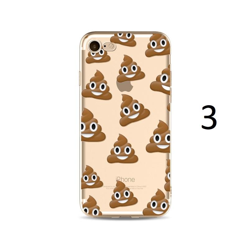 poo emoji iphone x 8 7 plus case