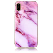 purple marble iphone 7 8 plus X Case
