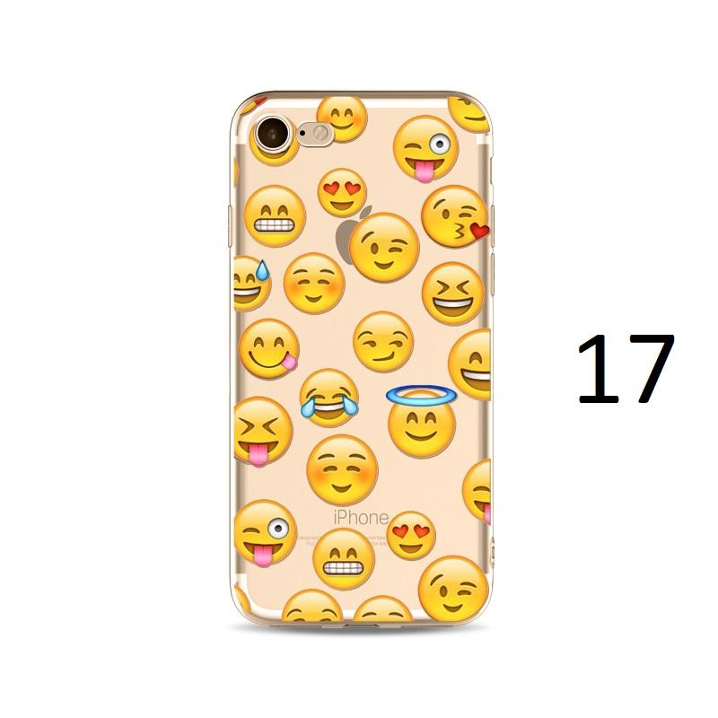 spaced emojis happy angel iphone x 8 7 plus case