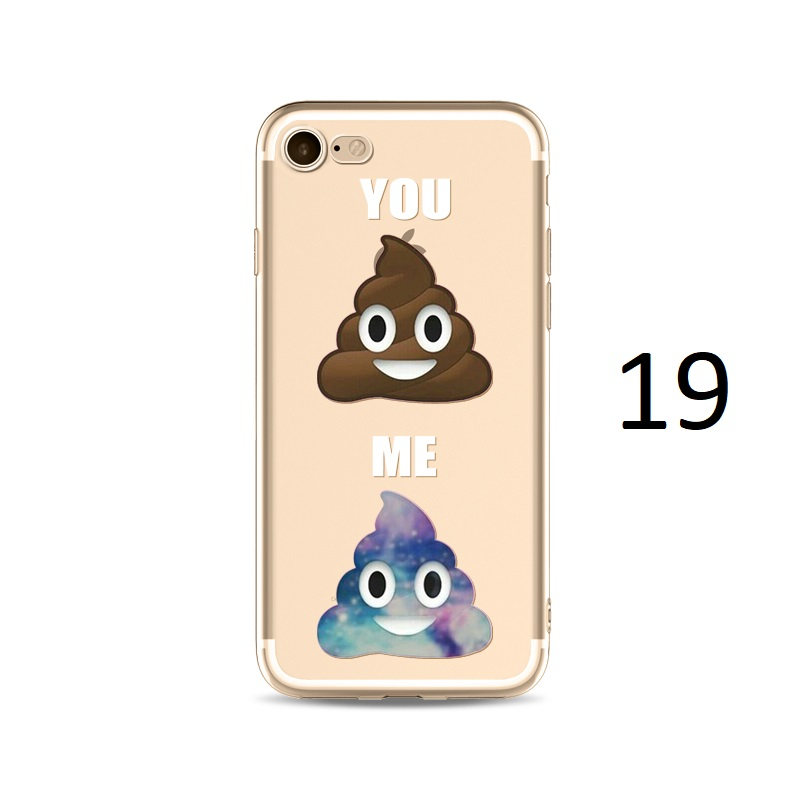 you me poo sparkle glitter iphone x 8 7 plus case