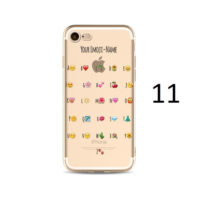 your emoji name iphone x 8 7 plus case