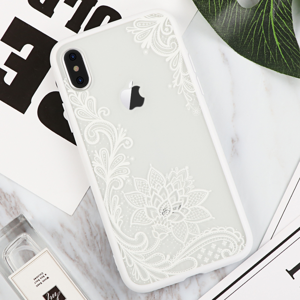 white lace iphone x case