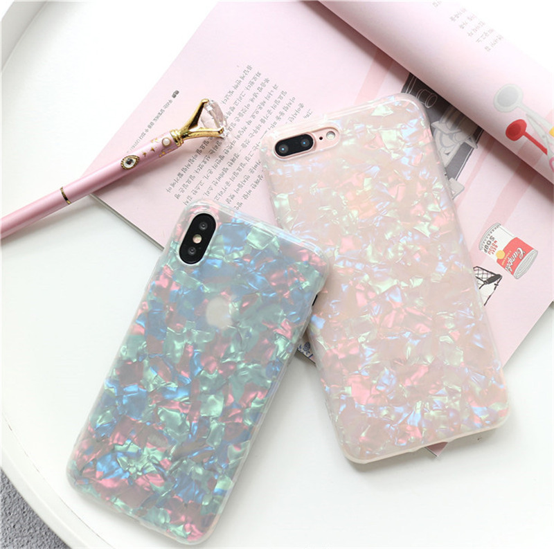 sports shoes 538b2 022f2 Holographic Shiny Pearl Reflective iPhone XS / XS Max / XR Cases