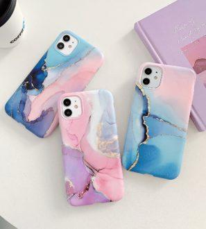 purple marble iphone 12 pro max case